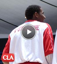 Colorado basketball commit Xavier Johnson of Mater Dei HS Monarchs Center No. 11